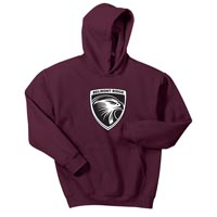 ADULT - Pullover Hooded Sweatshirt - Maroon