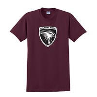 YOUTH - Short Sleeve T-shirt - Maroon