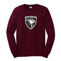 YOUTH - Long Sleeve T-shirt - Maroon