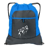 Pocket Cinch Pack - Brilliant Blue/ Deep Smoke