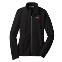 STAFF - Ladies Microfleece Jacket - Black