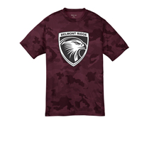 YOUTH - Performance CamoHex Shirt - Maroon